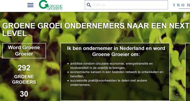 Koploperbedrijven: Groene Groeiers