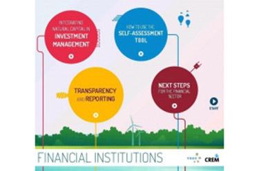 Interactieve gids Natuurlijk kapitaal & financiële instellingen